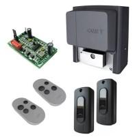 CAME Комплект автоматики откатных ворот до 800кг BX708 (привод, приемник, 2 пульта, фотоэлементы)